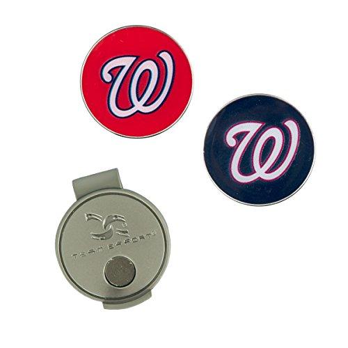 Team Effort MLB Washington Nationals Hat Cliphat Clip, NA