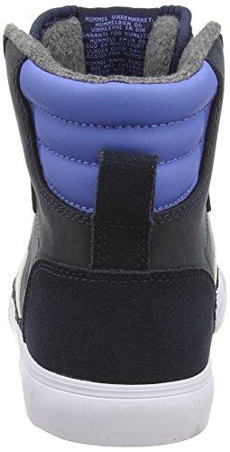 Hummel Blue Oiled unisex Stadil de Zapatillas otra piel Azul Dress a7OvqaW5