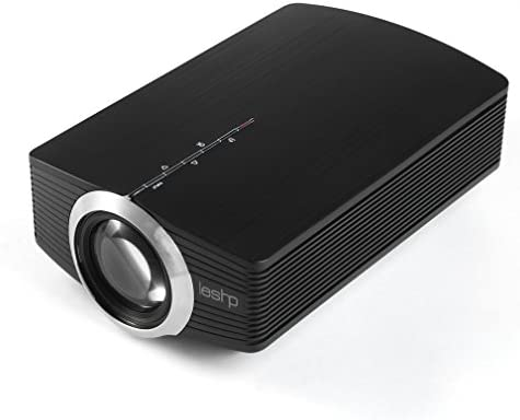 Mini Video Projector LED, Proyector LESHP HD 1080P 1200LM: Amazon ...