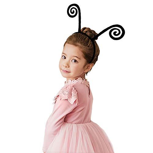 Black Butterfly Antenna-Headband for Kids Girls Boys Dress Up Costume]()