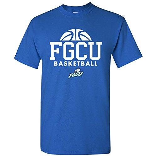 FGCU Eagles Basketball Hype Mens T-Shirt - Medium - Royal