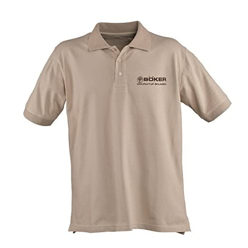 BOKER TREE BRAND 5.11 Desert Tan Cotton Medium Polo Shirt
