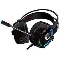 Rampage STYLES Siyah USB 7.1 Version RGB Oyuncu Mikrofonlu Kulaklık