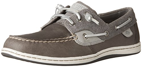Sperry Top-sider Womens Songfish Boat Shoe Grey