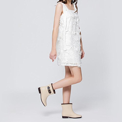 Donna PVC Stivali Zampa Pioggia Scarpe con Moda Colore Tacco Scarpe Donna Basso a da E Dimensione Scarpe Molla 39 con Antiscivolo da in rY8qrSw