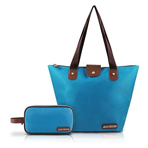 jacki-design-2-piece-foldable-tote-and-toiletry-bag-set-blue