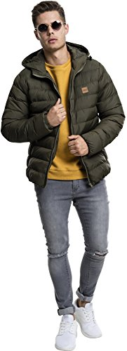 Urban Basic Jacket Bubble army Grün Classics Green Giacca Uomo 01144 ArfqtA5xn