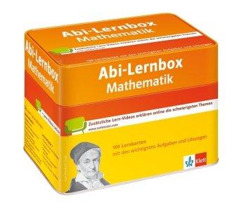 Klett Abi-Lernbox Mathematik: 100 Lernkarten mit den wichtigsten Aufgaben fürs Abitur