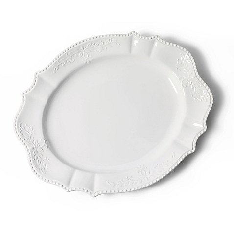(Tabletops Unlimited 21-Inch Scalloped Oval Platter)