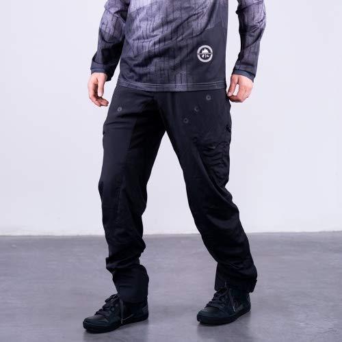 Platzangst Bulldog Light Fahrradhose Herren Hose lang schwarz MTB Pant