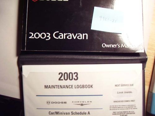 2003 Dodge Caravan Owners - Caravan Manual Dodge