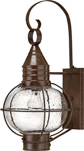 Hinkley 2204SZ, Cape Cod Outdoor Wall Sconce Lighting, 100 Total Watts, Bronze Cape Cod Outdoor Wall Light