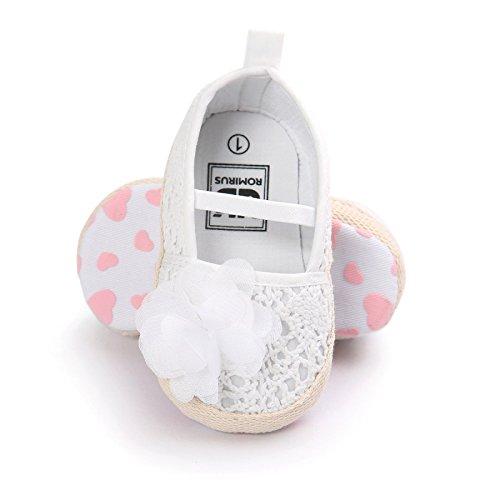 La panoplie Des Petits, Baby Babyschuhe - Lauflernschuhe  Rose clair 12-18 Monate Blanche