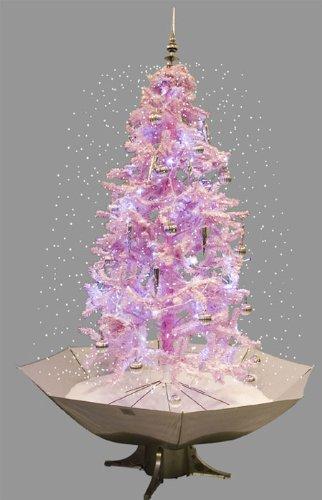 Albero Di Natale Rosa.Albero Di Natale Con Neve Rosa Fucsia 200 Cm Amazon It Casa E Cucina
