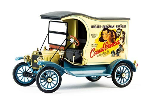 1917 Ford Model T Cargo Van Casablanca (1942) Movie 1/18 Diecast Model Car by Motorcity Classics 88150
