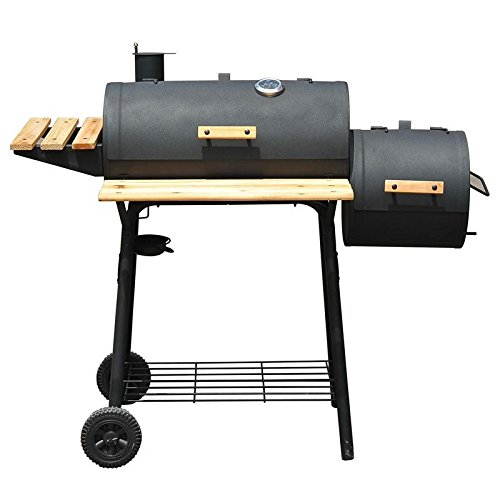 Charcoal BBQ Grill Backyard Cooking Outdoor Smoker with ebook by MRT SUPPLY