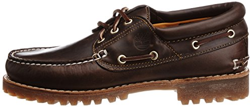 Zapatos Brown Eye Up Hombre Marrón Pull del Authentics Barco 3 Timberland para Classic qIABAw