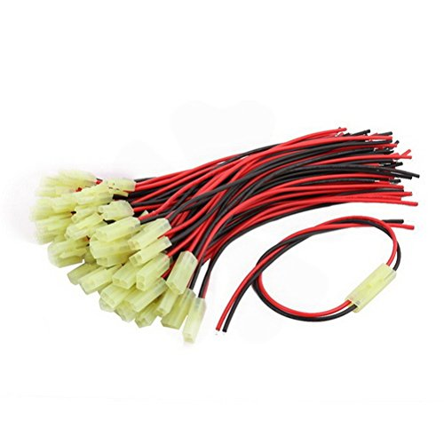 6Ft 24AWG Red Gauge Flexible Stranded Copper Cable Silicone Wire for RC by KPSheng