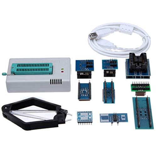 SODIAL Mini Pro TL866CS USB BIOS Universal Programmer Kit with 9 Pcs Adapter