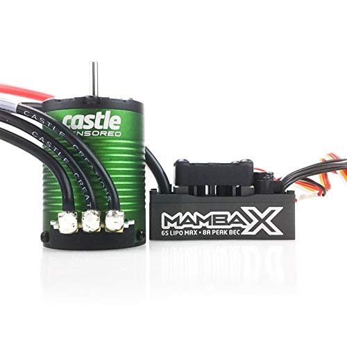 Castle Creations Mamba X Sensored 25.2V WP ESC & 1406-5700Kv Combo