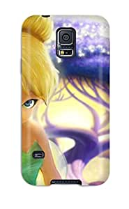 High Quality Brrson Tinkerbell Skin Case Cover Specially Designed For Galaxy - S5