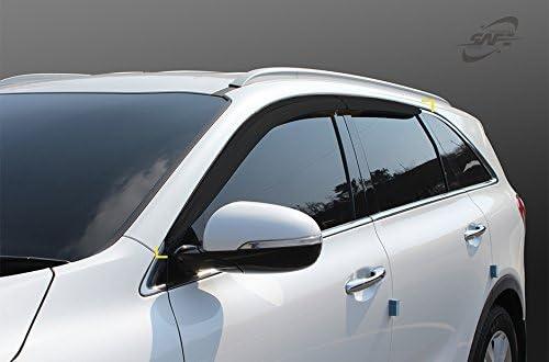Safe Window Visors 4pcs Compatible with KIA 2019 Sorento LX EX SX SX SXL