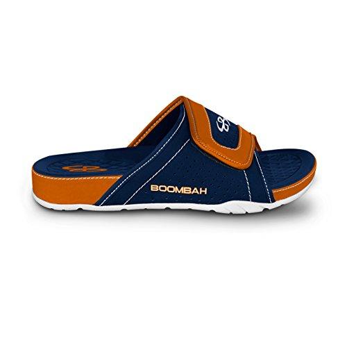 Boombah Mens Tyrant Slide Sandals - 32 Color Options - Multiple Sizes Navy/Orange IRYlLydF