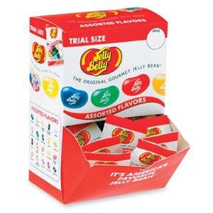 Jelly Belly, Individually Wrapped, 80/PK, Assorted Flavor by Jelly Belly