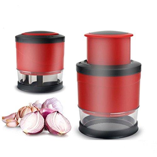 KingWo Kitchen Press Vegetable Onion Garlic Food Chopper Cutter slicer peeler dicer