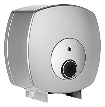 Nova Clean Tools 0610 CHR Future Jumbo Dispensador de papel higiénico, Plata: Amazon.es: Industria, empresas y ciencia