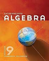 Intermediate Algebra, 9th Edition Front Cover