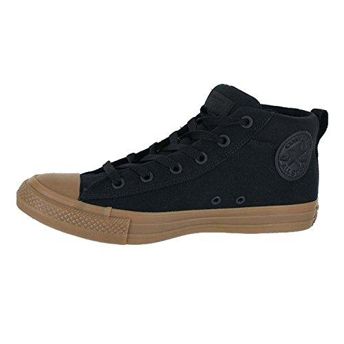 Converse Herren Street Canvas Mid Top Sneaker Schwarzer dunkler Honig