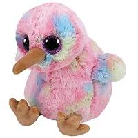 Ty – Small – Kiwi el Pájaro Beanie Boo S Mochila Peluche, ty36213,