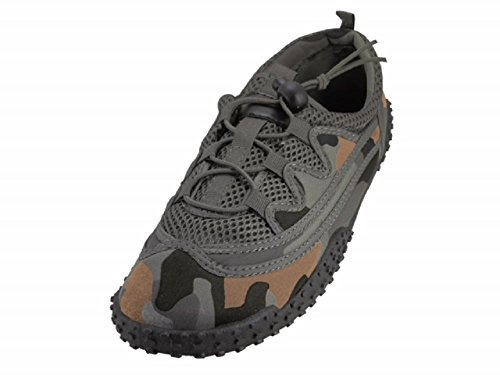 Wave Waterproof Mens Camouflage Water Grey Shoes xFYBqSBw