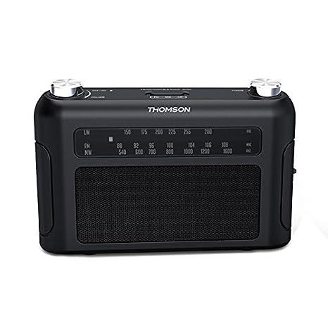 Thomson RT235 - Radio portátil de 3 bandas (FM/AM/LW) negro: Amazon.es: Electrónica