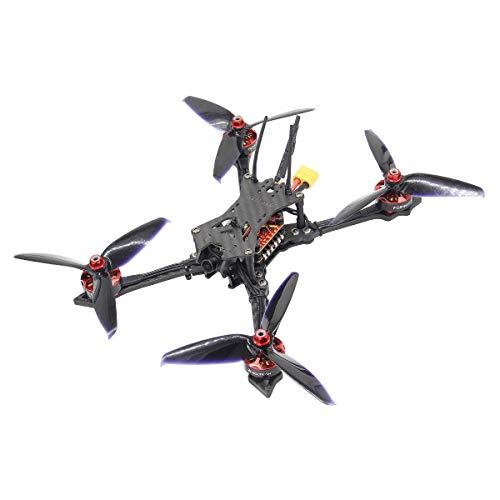 (HGLRC Batman220 220mm FPV Racing Drone Airbus F4 Flight Controller 2306 2450KV Brushless Motor 5mm Carbon Fiber Frame Kit Forward VTX Video Transmitter Aurora Camera Quadcopter Frsky XM+ Receiver)
