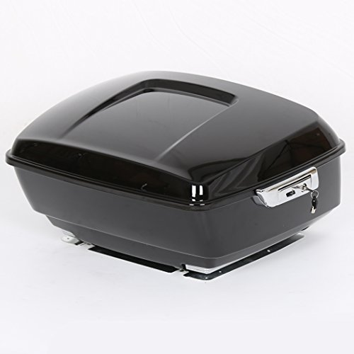 Used, King Tour Pack Touring Pak Trunk Tail Box For Harley for sale  Delivered anywhere in USA