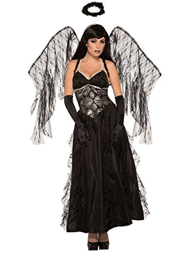 Forum 80415_STD-As-Standard Women's Fallen Angel Adult Costume, Standard, Pack of 1 ()