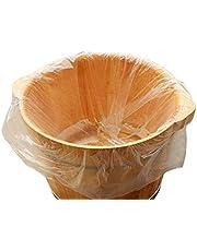 80 UNIDS Desechables Forros para Tina de Baño Baño de Pie Bolsa de Lavabo Bolsa de Plástico Pedicura Footbath Film Barril Bolsas para Pies Pedicura Spa Cuidado de la piel