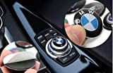 Automotive : 29 mm BMW Multimedia Control Badge Alloy Sticker for BMW M 1 3 5 x1 x3 x5 x6 GT