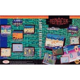 Menacer 6-in-1 game cartridge by SEGA