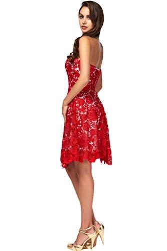 Missdressy - Vestido - trapecio - para mujer C