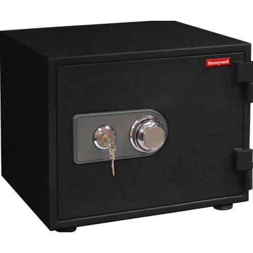 Honeywell Safes & Door Locks - 2103 1 Hour Fireproof Water Resistant Steel Security Safe, 0.58-Cubic Feet, Black