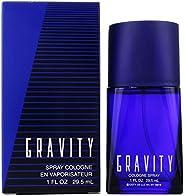 Coty Gravity Cologne Spray 1.0 Oz/ 29.5 Ml for Men By 0.31 Pounds