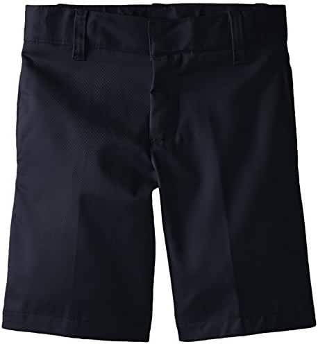 French Toast Boys' Basic Flat-Front Short with Adjustable Waist