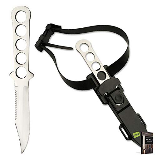 Serrated Diving Knife - 8.5