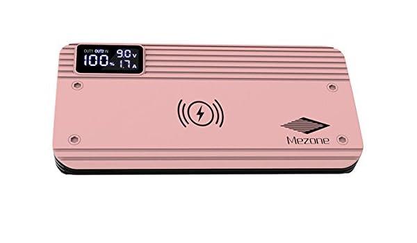 Amazon.com: 10,000mAh Qi Cargador Inalambrico Portable con ...