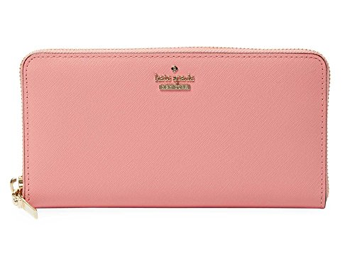 Kate Spade New York Cameron Street Lacey zip around continental wallet, Yucatan Pink ()