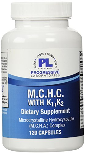 Progressive Labs MCHC with K1 and K2 Supplement, 120 Count