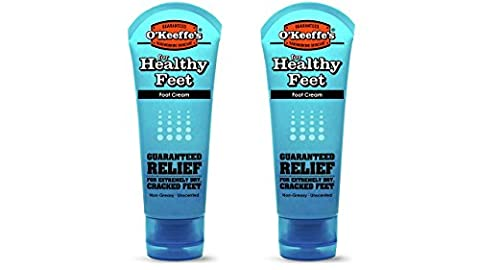 O'Keeffe's K0280004-2 Healthy Feet Foot Cream Tube (2 Pack), 3 oz - S&w Leather Saddle